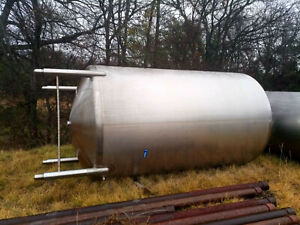 4000 Gal 316l Stainless Steel Holding Tank