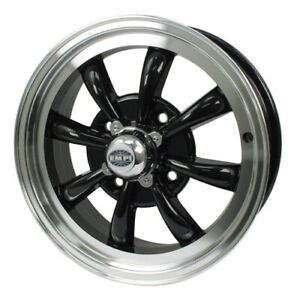 Gt 8 Wheel Black With Polished Lip 5 5 Wide 4 On 130mm Dunebuggy Vw