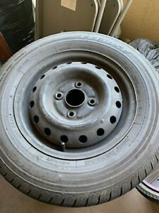 1990 1999 Honda Accord 14 Oem Rims With New Tires And Used Hubcaps