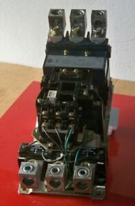 509fod Allen Bradley Size 5 Starter With 120 Volt Coil contacts Are Nice