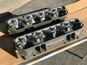 64 Mopar Max Wedge Stage Iii Cylinder Heads 2406518 Bare Dodge Plymouth 426 518