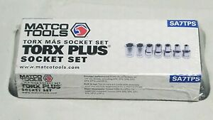 Matco Tools Torx Plus Socket Set Sa7tps