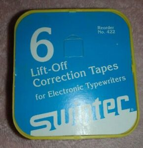 Lot Vintage Typewriter Supplies printer ribbon correction Tapes canon used new