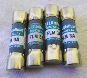 Littelfuse Flm3 Current Limiting Time Delay Fuse 3a 250vac