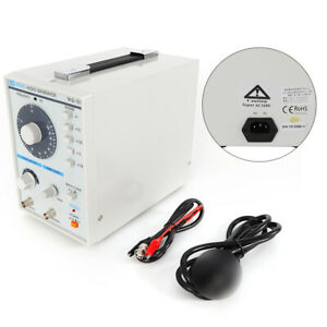 Low Frequency Audio Signal Generator Power Cord Test Clip Instruction Manual