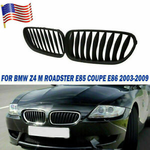 Gloss Black Front Kidney Grille Grill For Bmw M6 F06 F12 F13 650i 640i 2012 2017