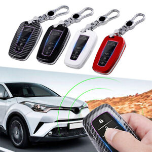 Car Remote Key Case Fob Cover For Toyota Camry Corolla C hr Chr Prado Rav4 Prius