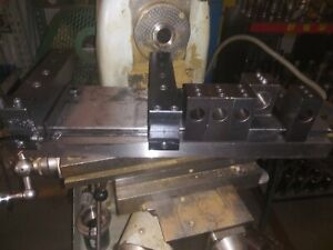 Hardinge Conquest Gt Top Plate With Toolholders G 27 Gang Lathe Hg 4 Hg 3 hg 6