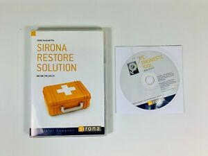 Sirona Restore Solution And Pc Diagnostic Tool For Cerec Ac And Inlab Pcs