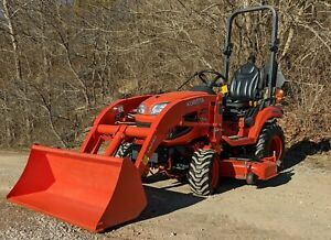 2016 Kubota Bx2670 W Loader Only 1055 Hours 60 Mower Deck Athens Oh