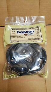 Boston Leather 6543 Xl Firemans Radio Strap Motorola Rln6487a