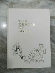 The Desire of Ages E G White large book rare white binding 1964 Pacific Press $19.95