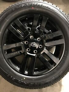 2021 Toyota 4runner Limited Nightshade Wheels And Tires