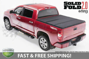 Solid Fold 2 0 Tonneau Cover For 1999 2007 Silverado sierra 1500 2500 8 2ft Bed