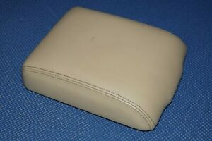 Land Rover Discovery Armrest Center Console Cover Lid Tan Arm Rest 1999 2004