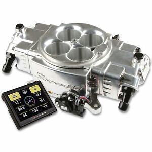 Holley 550 870 Sniper Stealth 4150 Self tuning Fuel Injection System 4150 Flange