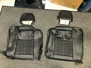 2011 2014 Ford Mustang Gt 500 Seat Rear Back Seat Covers Upper And Lower Heads