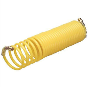 9 8ft Recoil Air Hose Re Coil Spring Ends Pneumatic Compressor Tools Accessories