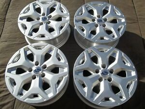 68866 2019 2021 Subaru Forester 17 Wheels Silver Stock Oem Factory Rims 5x114 3