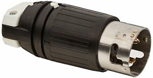 Hubbell Cs8165c Locking Plug 50 Amp 480v 3 Pole And 4 Wire