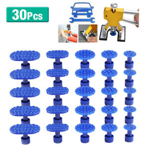 30pcs Pdr Glue Puller Tabs For Paintless Dent Repair Lifter Hammer Removal Tool