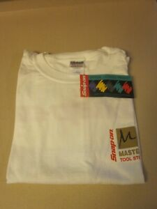 Snap on Master Series Tool Storage T shirt minty Brand New Unworn V g Cond