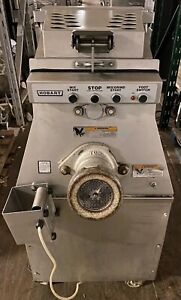 Hobart Mg1532 Meat Mixer Grinder W Foot Pedal Works Great