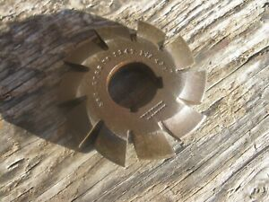 Brown Sharpe Involute Gear Tooth Cutter No 2 5 P 55 134t D f 431