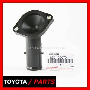Factory Toyota Celica Mr2 Corolla Water Inlet Thermostat Housing 1632122070 Oem
