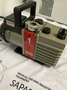 Edwards 1 Two Stages High Vacuum Pump E2m 1 60 Day Warrnaty See Video