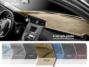 Dashboard Pad Dash Cover Mat Beige For 2006 2009 Dodge Ram 1500 2500 3500