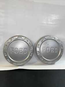 Vintage 1961 66 Ford Pickup Truck Dog Dish Hubcaps Nice Original New Old Stock