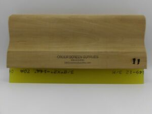 Wood Squeegee For Screen Printing 70 Durometer 11 Inch