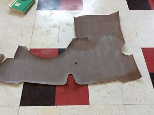 1941 1942 1946 1947 1948 Chevrolet Coupe Trunk Mat New Taupe Ra5