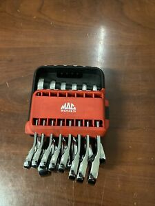 Mac Tools 14 Piece Stubby Ratcheting Wrench Set Pttray 14st C X