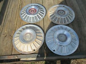 67 Galaxie 500 15 Hubcap Wheel Covers Set Of 4 1967