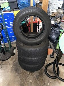 4 Used 235 65r17xl 108t Continental Extremecontact Winter Snow Tires 7mm 9 32