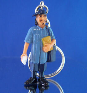 Homies Usps Post Office Letter Carrier Mailman 1 24 Scale Figure Keychain 161