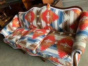 Antique Sofa With New Apholstery