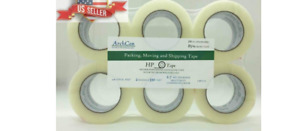 2 Heavy duty 2 7mil Clear Shipping Packing Moving Tape 110 Yards