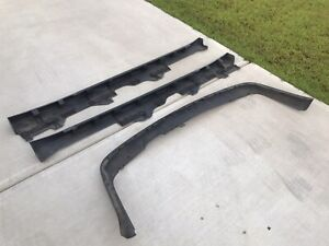 97 01 Oem Honda Prelude Side Skirts Left And Right Back Chin Bumper Trim