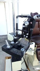 Reliance Tempo 6000 Chair With Ao Slit Lamp 11685 Topconi Is 30 Stand