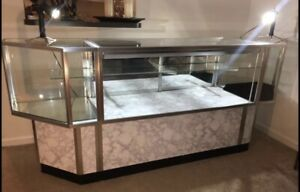 Fantastic High Quality Jewelry Store Display Case Glass Retail Display Case