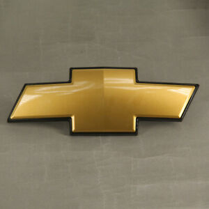 Oem New Front Gold Grille Emblem Gm 22830014 For Chevy Avalanche Suburban Tahoe