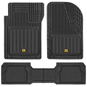 All Weather Car Floor Mats Full Rubber Liner Set Includes Front Rear Mat
