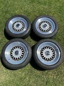 Staggered 7x16 9x16 Porsche 911 930 Bbs Rs012 Rs055 3 Piece Wheels Kba40708