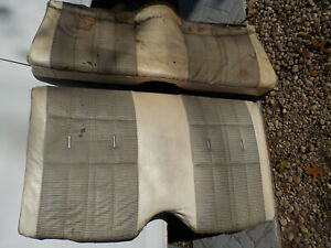 1971 1972 1973 Mustang Convertible Rear Seats 71 72 73