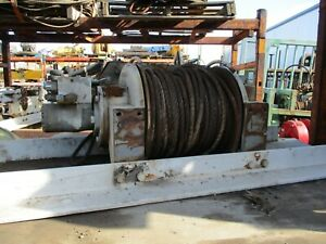 Braden Planetary Winch Hydraulic Model Pd18c 11db feb Cap 20 000lb