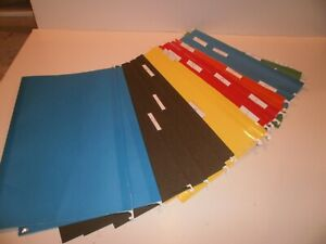 Hanging File Folders Legal Size Assorted Colors Pendaflex Readytab With Tabs