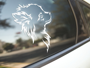 Chihuahua Sticker Dog Car Decal Chihuahuas Dogs Long Haired Puppy Silhouette